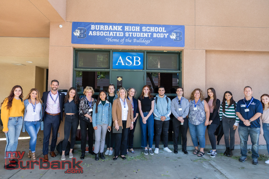 5d33ccab5e Senior For A Day  Burbank Community Leaders Return To High School ...
