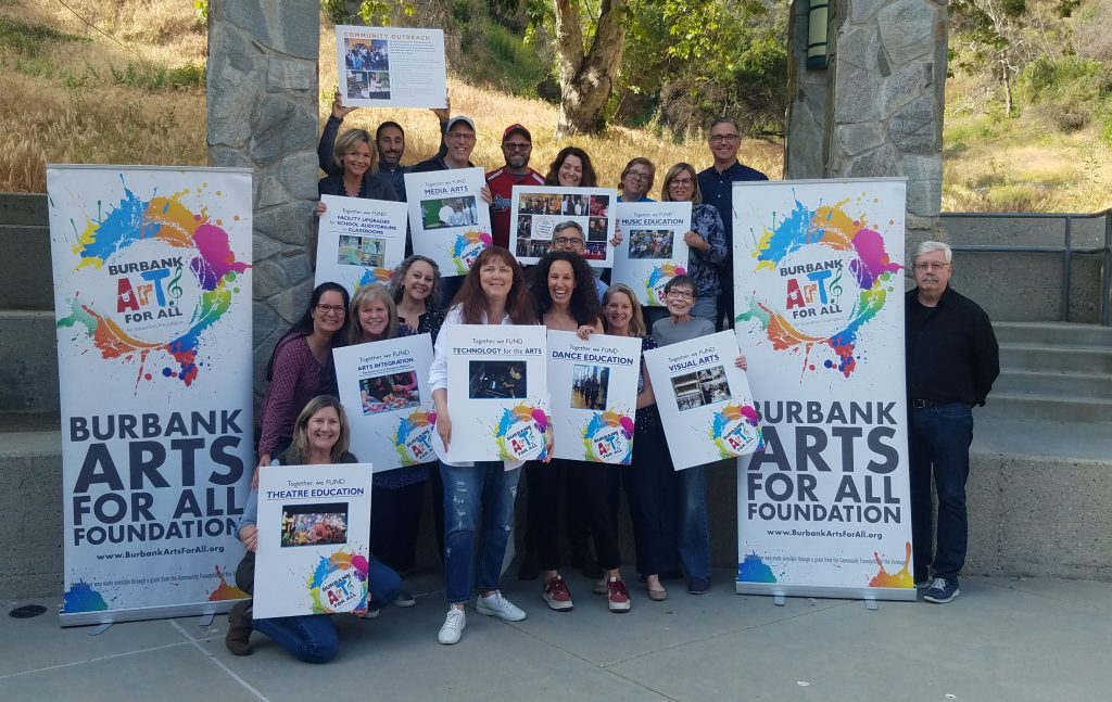 burbank arts for all foundation