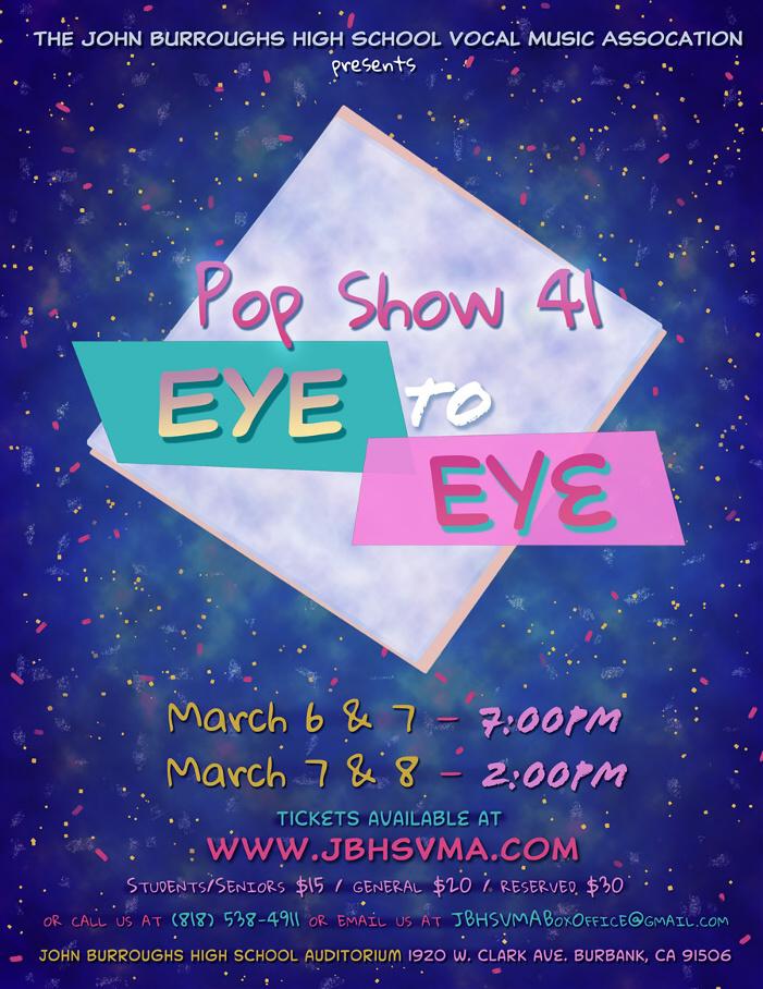 JBHS Pop Show