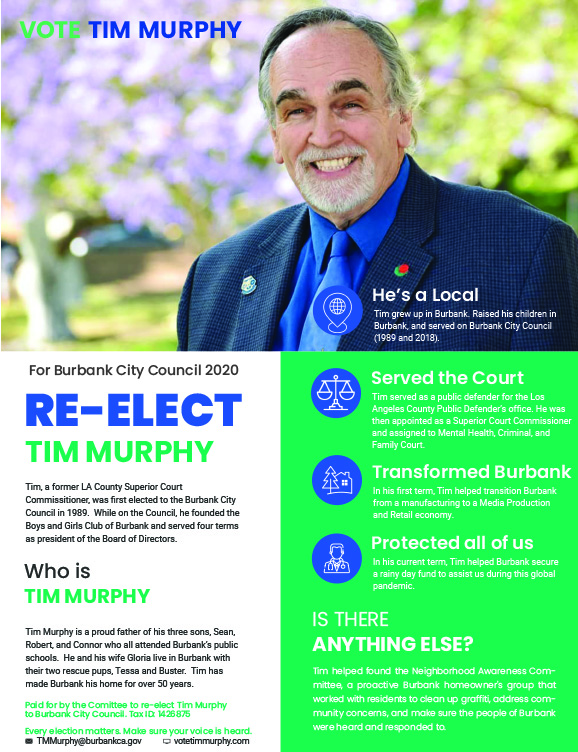 Tim Murphy for City Council