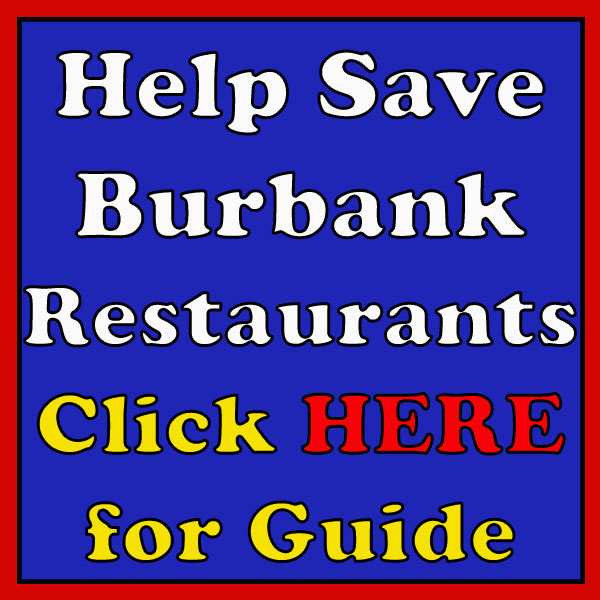 Save Burbank Restaurants