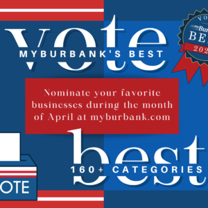 Blue and Red Voter Education Landscape Posters